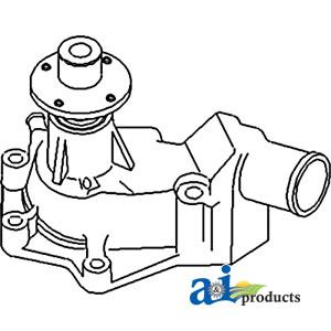 John Deere Water Pump AT29618