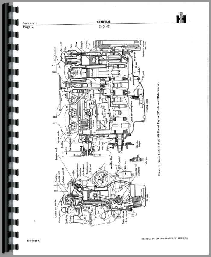 Adams 550 Grader Engine Service Manual