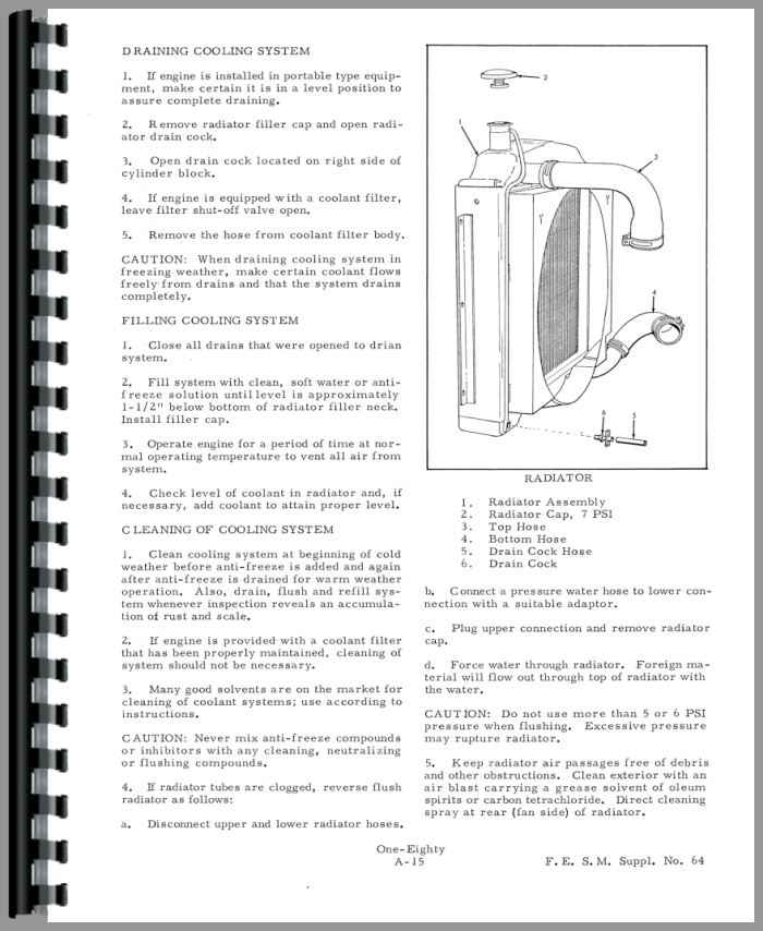 Allis Chalmers 180 Tractor Service Manual