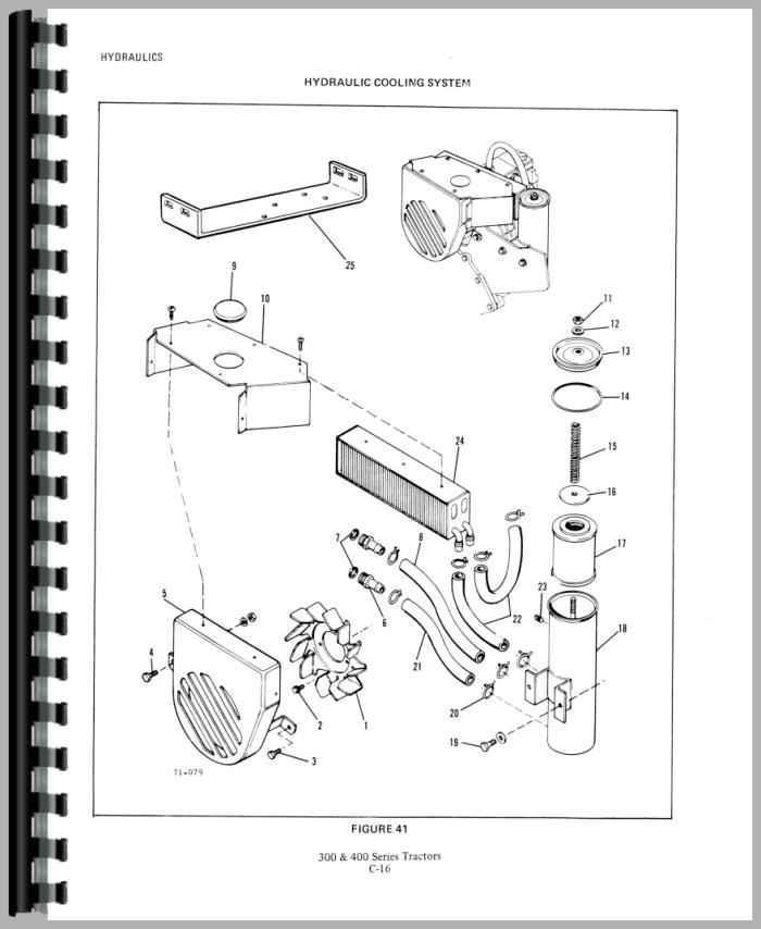 Allis Chalmers 410 Lawn & Garden Tractor Service Manual