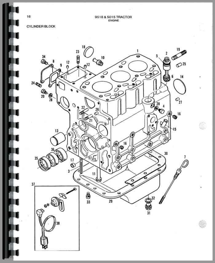 Allis Chalmers 5015 Tractor Parts Manual