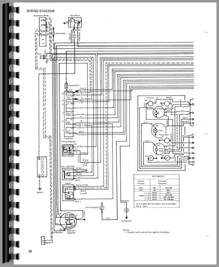 wiring diagram ih 706