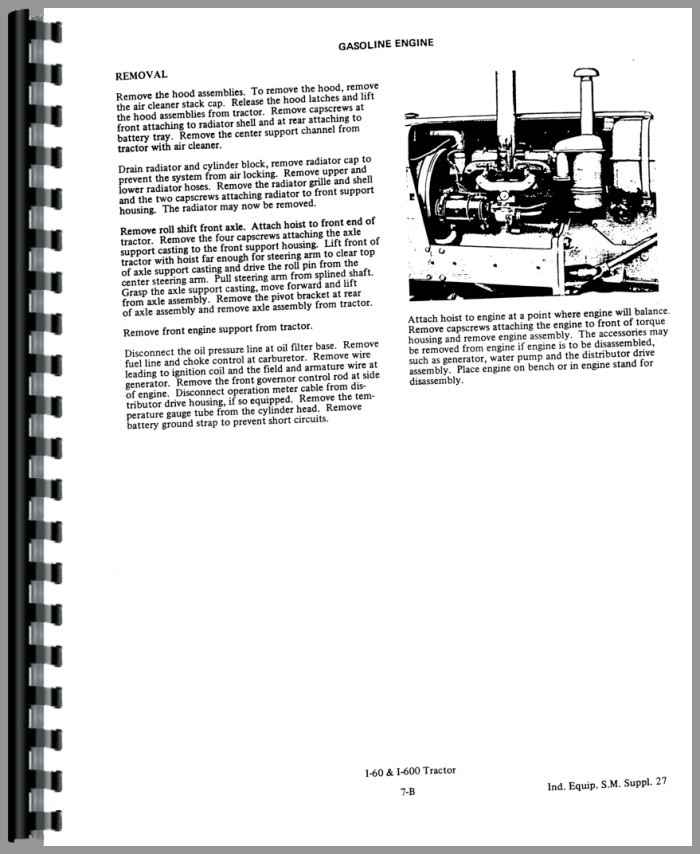 Allis Chalmers 510 Forklift Service Manual