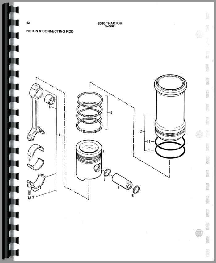 Allis Chalmers 8010 Tractor Parts Manual