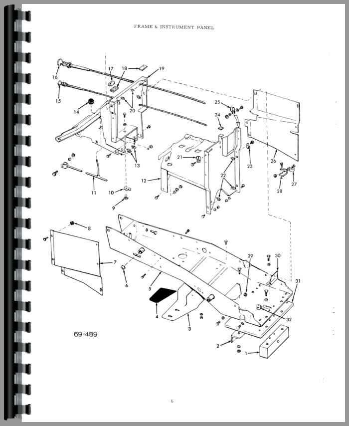 Allis Chalmers B-110 Lawn & Garden Tractor Parts Manual