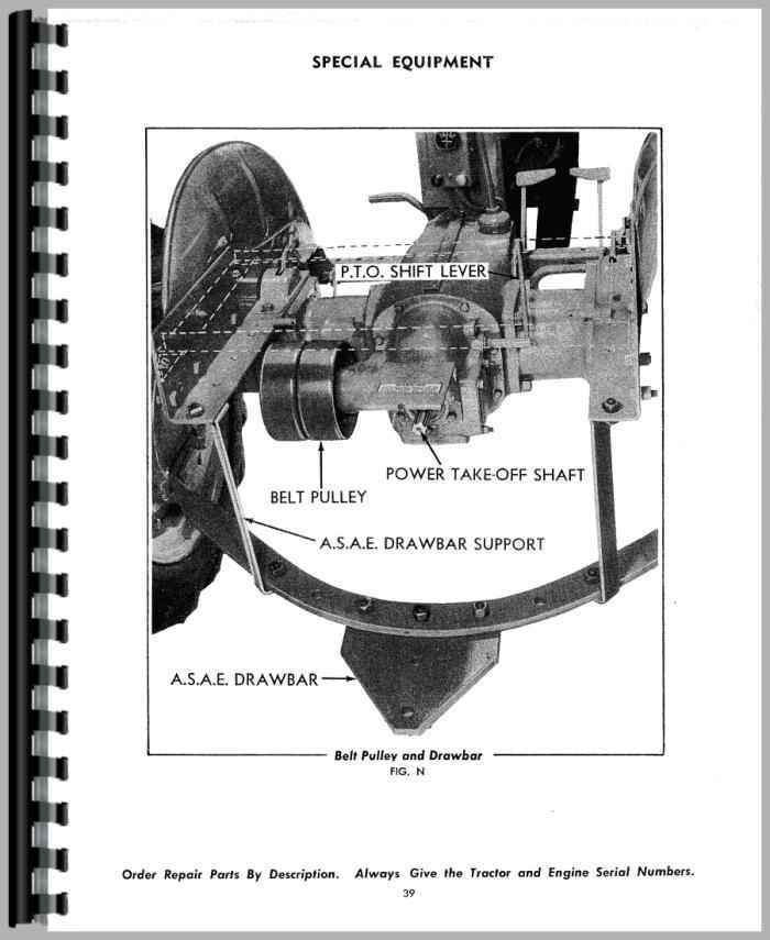 Allis Chalmers C Tractor Operators Manual