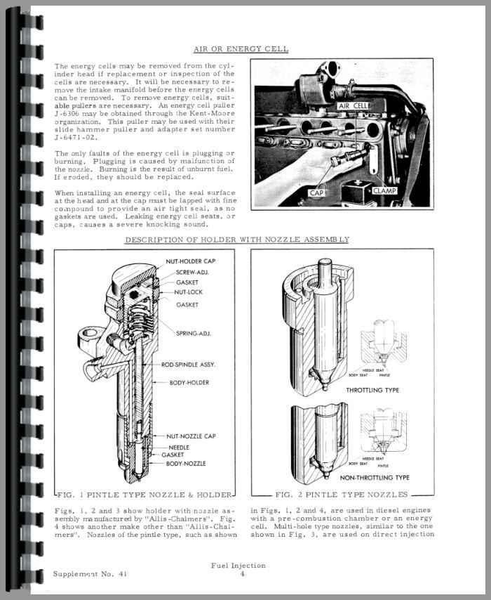 Allis Chalmers D19 Injection Pump Service Manual