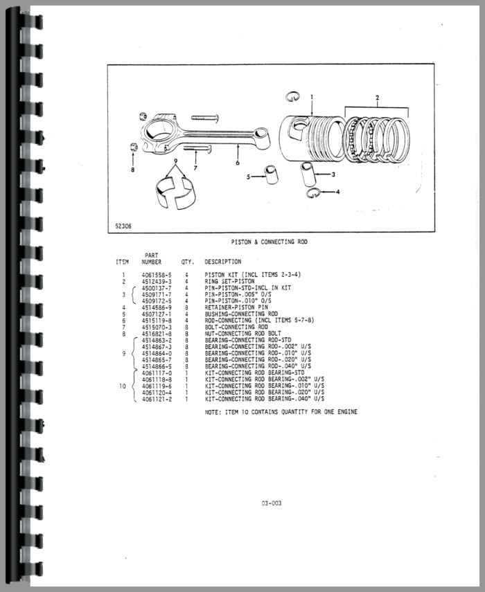 Allis Chalmers FPL40-24 Forklift Parts Manual