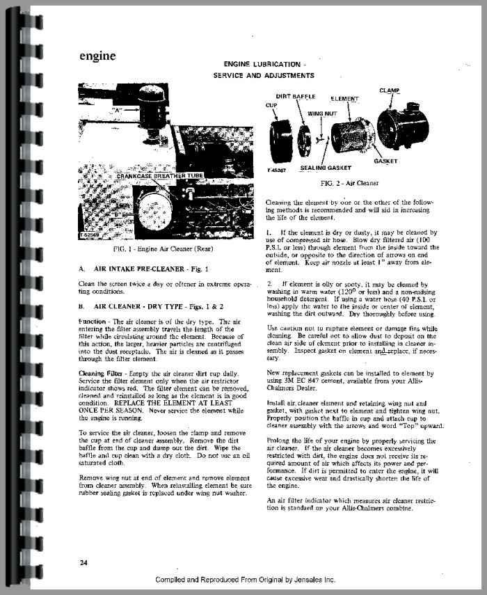 Allis Chalmers Ac 130 Manual