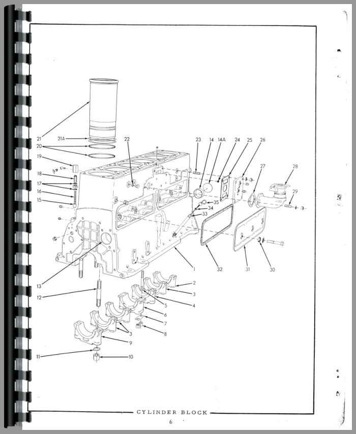 Allis Chalmers HD16DC Crawler Parts Manual