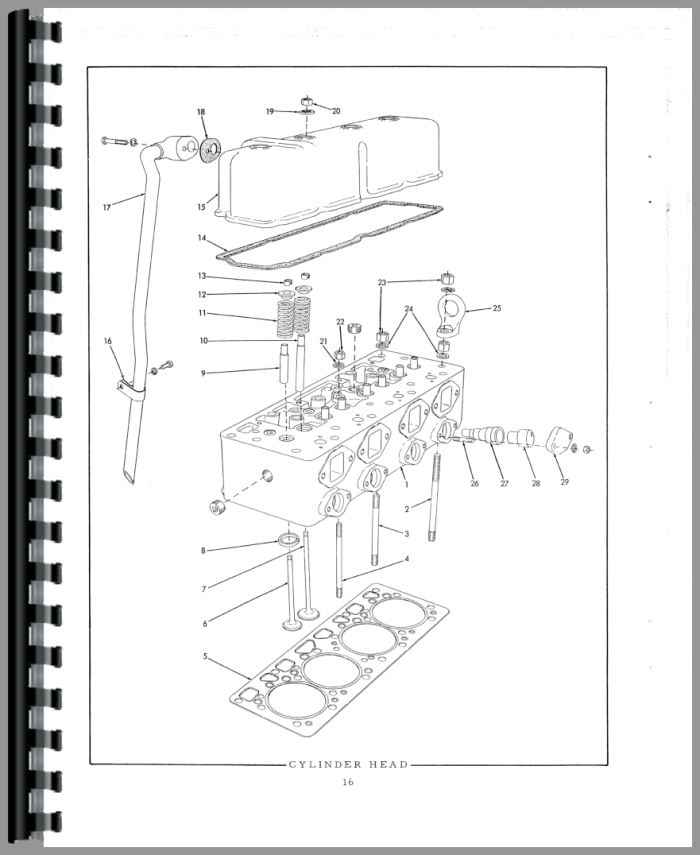 Allis Chalmers HD6 Crawler Parts Manual