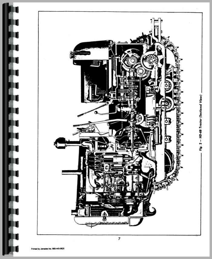 Allis Chalmers HD6E Crawler Service Manual