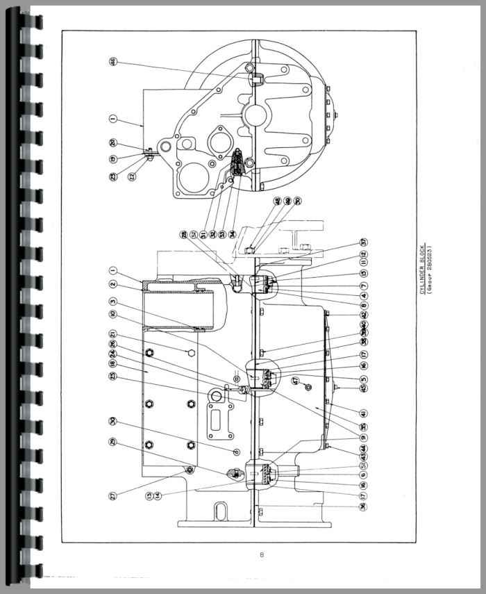 Allis Chalmers U Tractor Service Manual