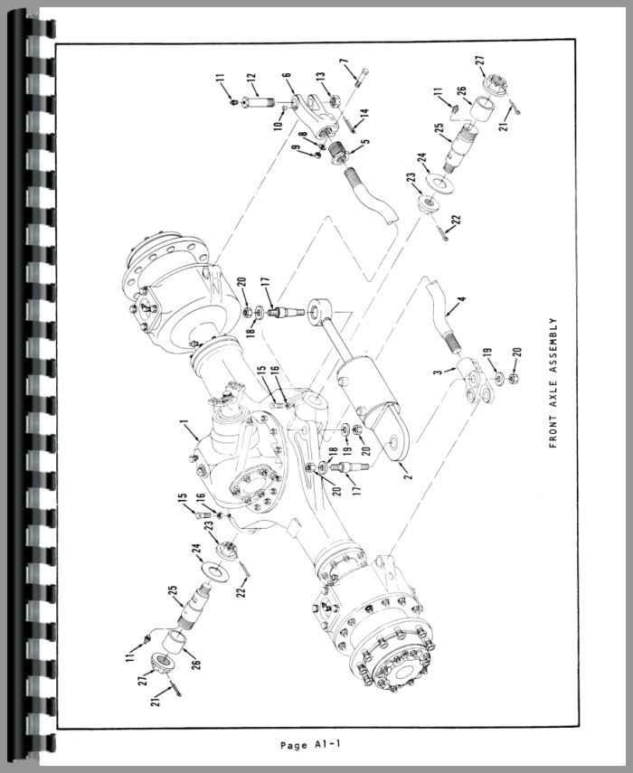 Austin Western Pacer 301 Grader Parts Manual
