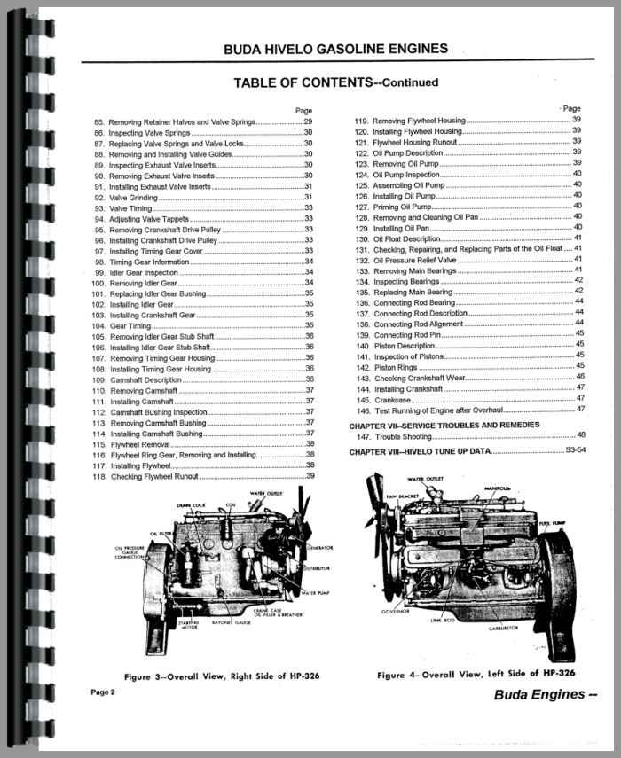 Austin Western 88H Grader Buda Engine Service Manual