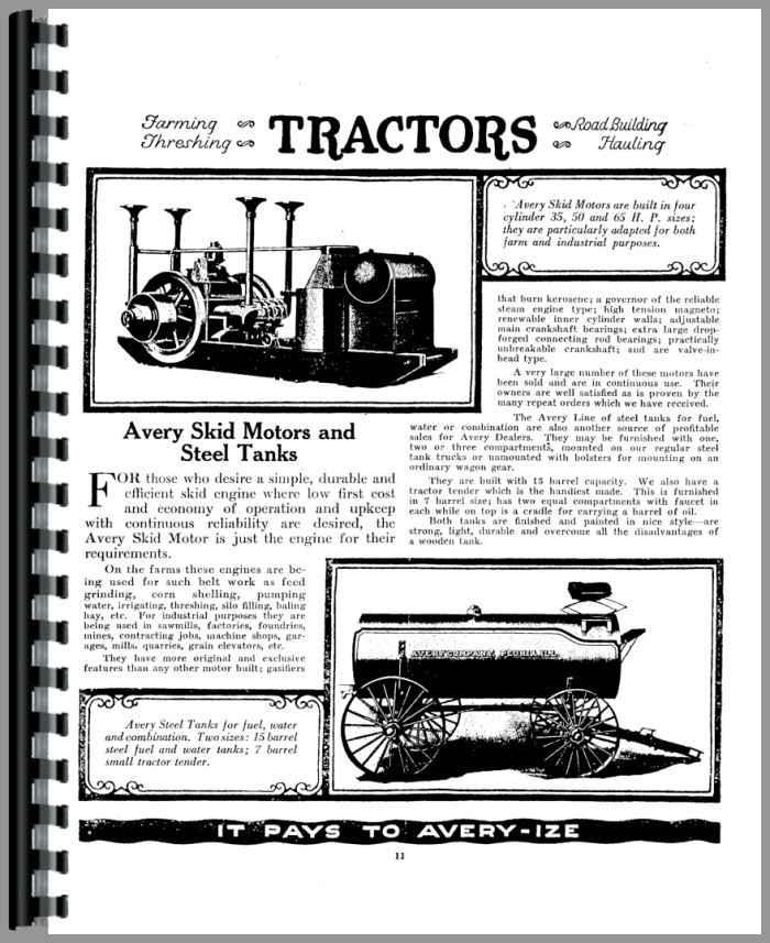 Avery All Sales Catalog Operators Manual