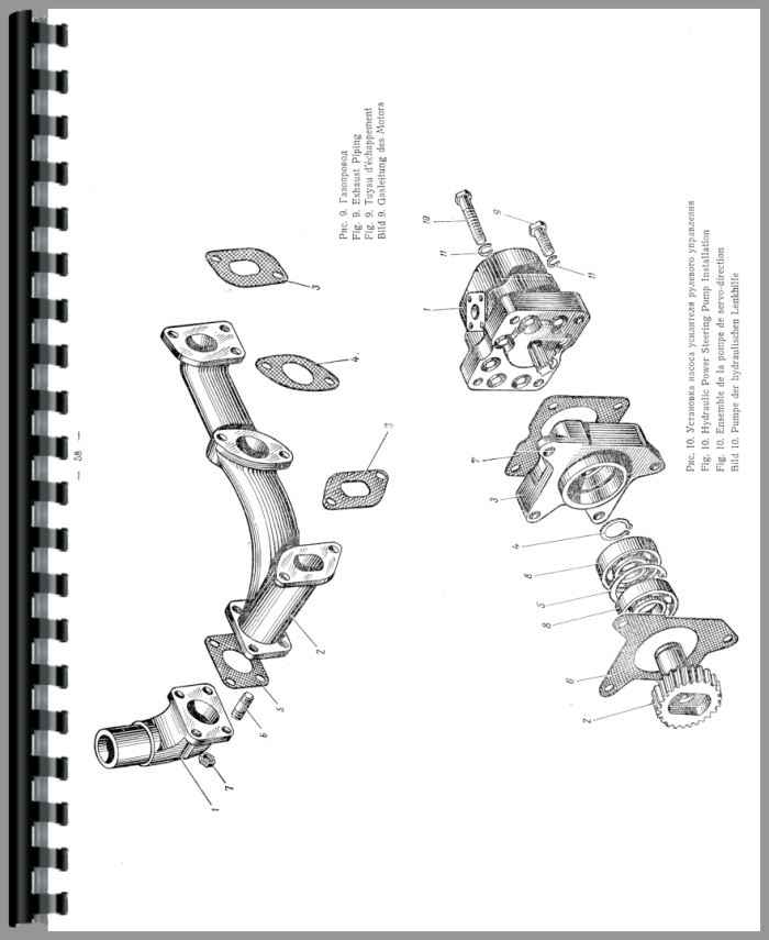 Belarus MT3-80 Tractor Parts Manual