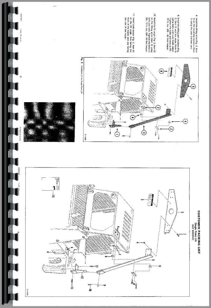 Bobcat 843 Skid Steer Loader Service Manual