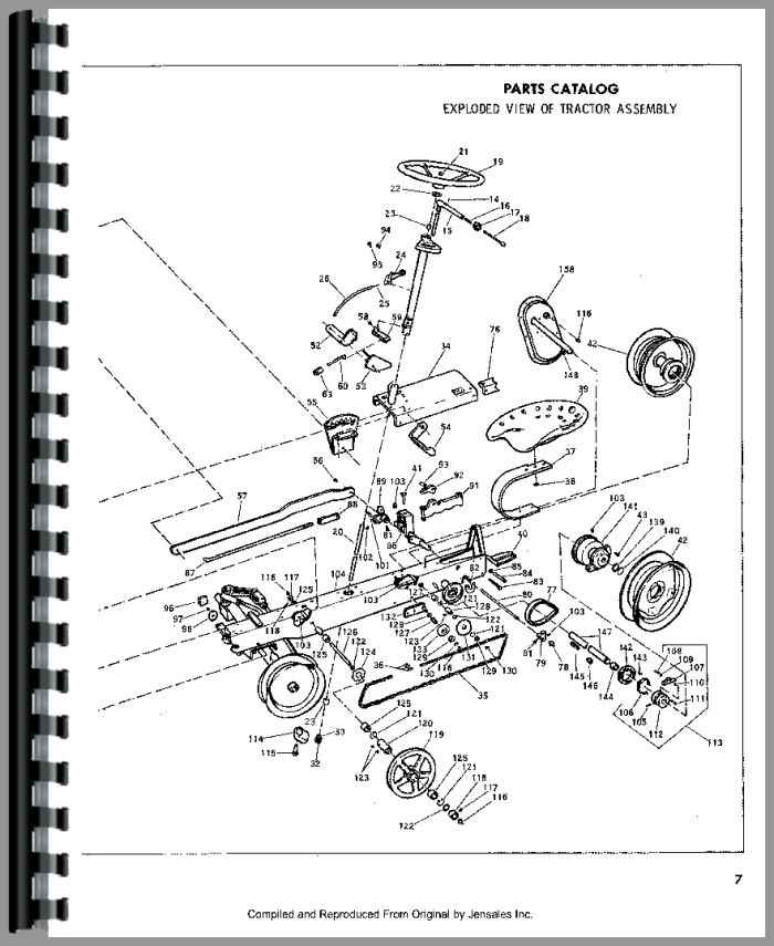 Bolens 220-01 Lawn & Garden Tractor Operators & Parts Manual