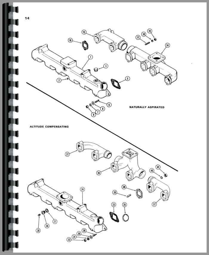 Case 1150B Crawler Parts Manual