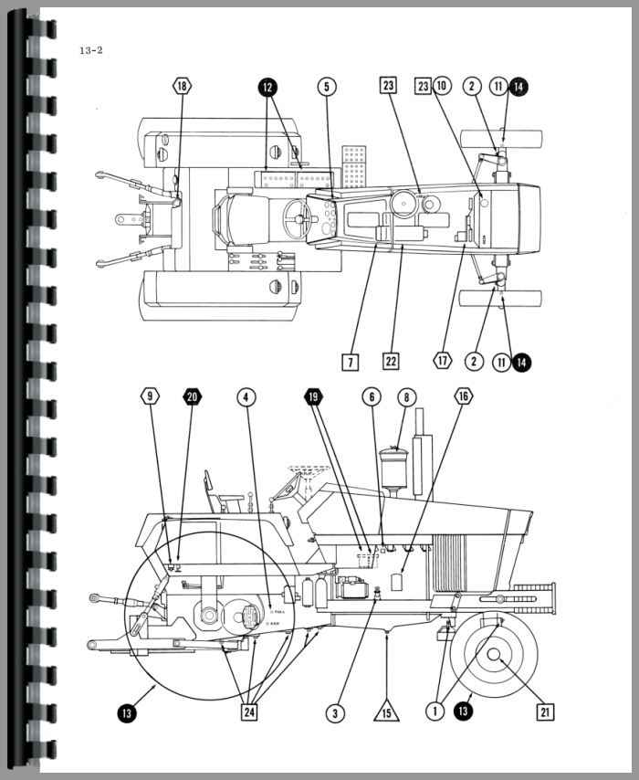 Case 1175 Tractor Service Manual