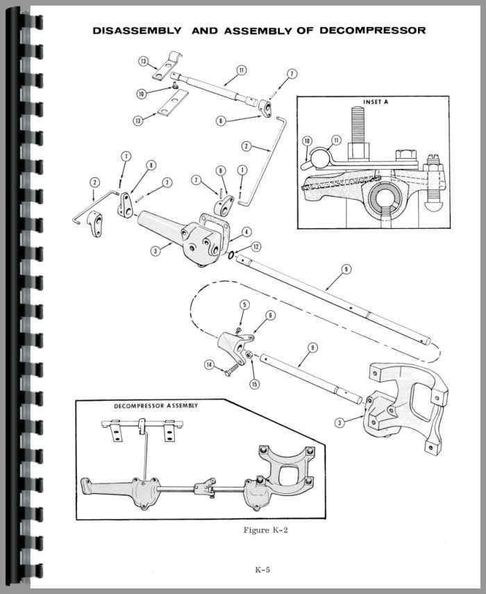 Case 1200 Tractor Service Manual