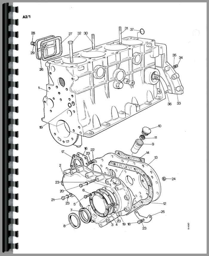 Case 1490 Tractor Parts Manual