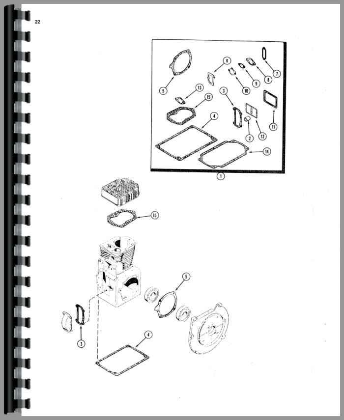 Case 220 Lawn & Garden Tractor Parts Manual