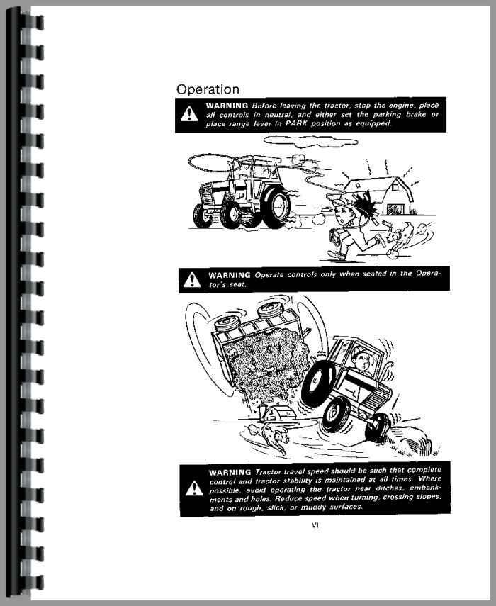 Case 2390 Tractor Operators Manual