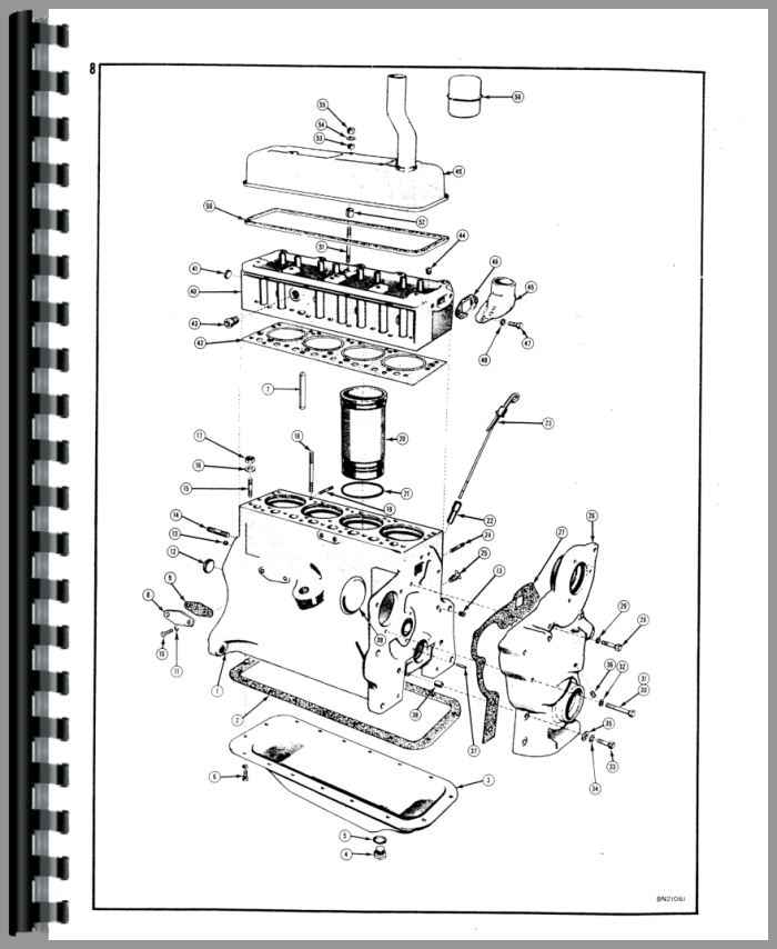 Case 310 Crawler Parts Manual