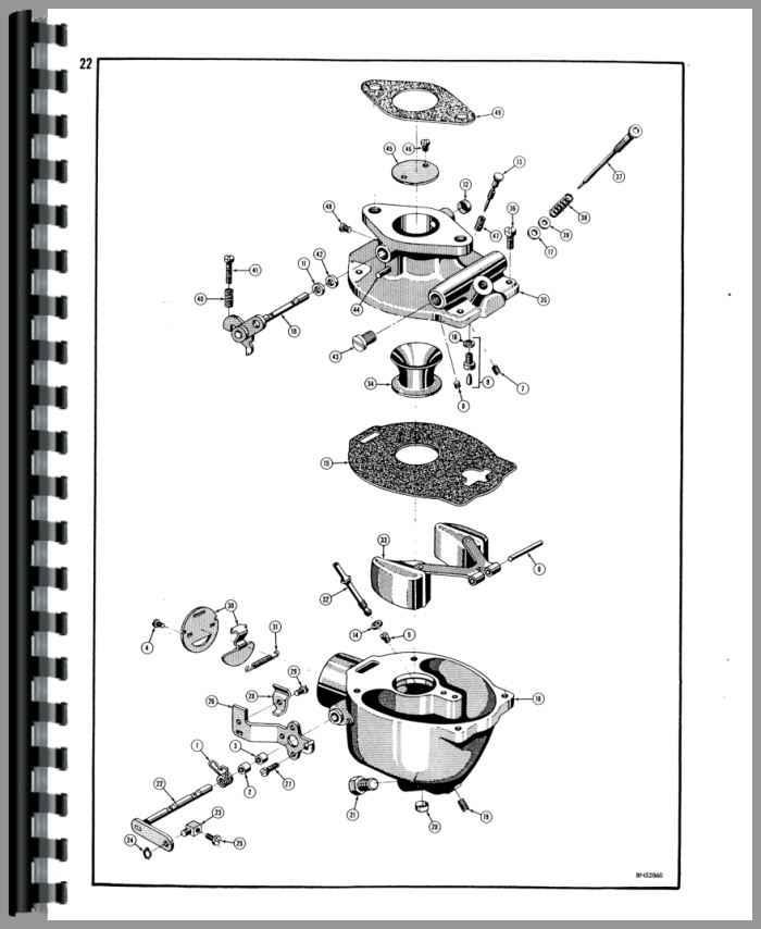 Case 310F Crawler Parts Manual