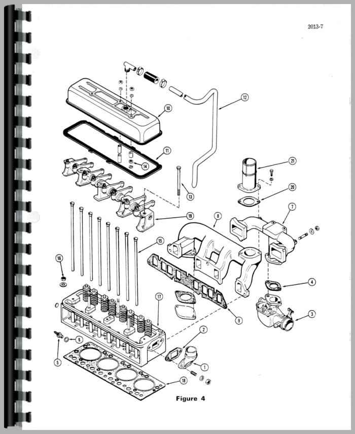 Case 310F Crawler Service Manual
