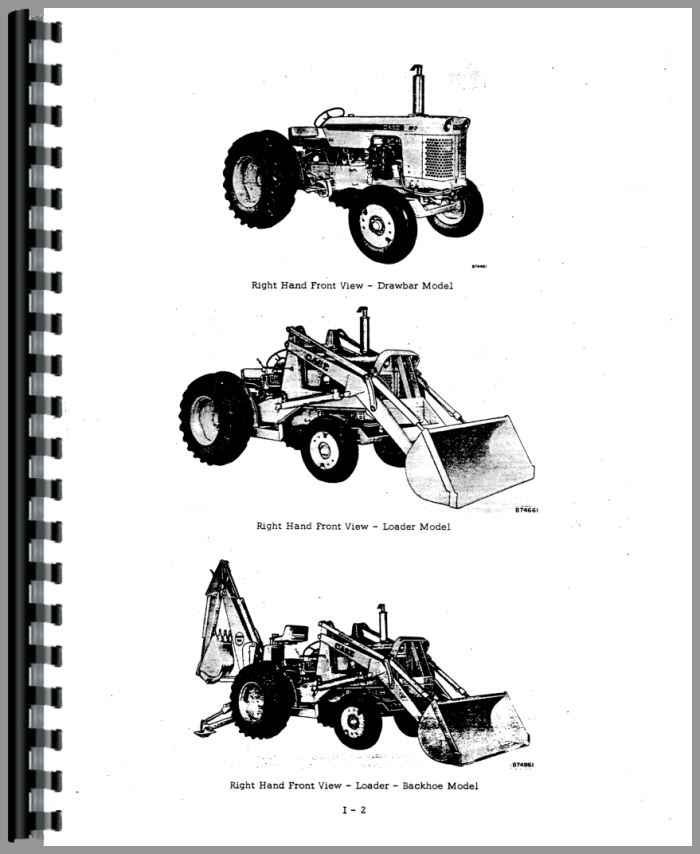 Case 420B Wheel Loader Service Manual