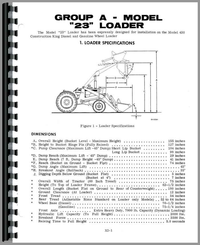 Case 430 Tractor Loader Backhoe Service Manual