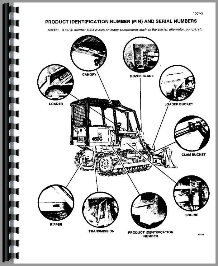 Case 450C Crawler Service Manual
