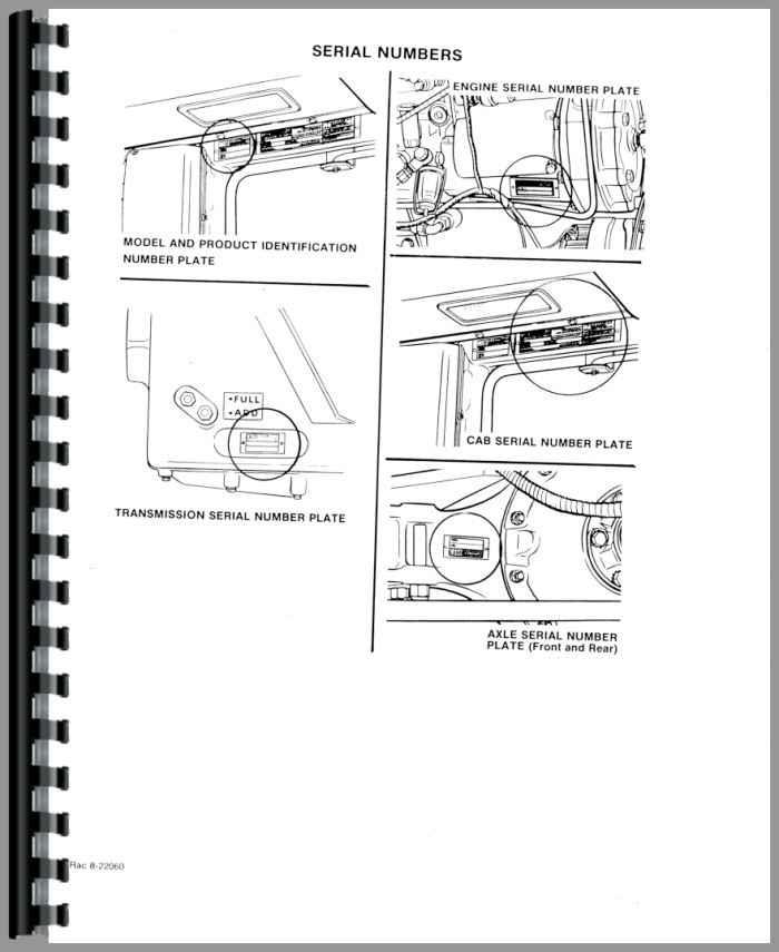 Case 4890 Tractor Service Manual