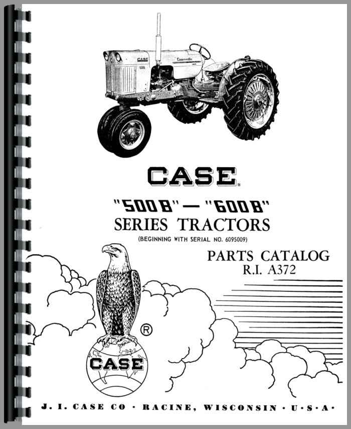 Case 511B Tractor Parts Manual