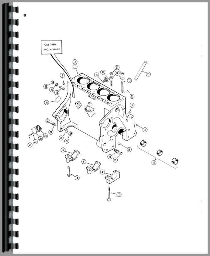 Case 530 Tractor Parts Manual