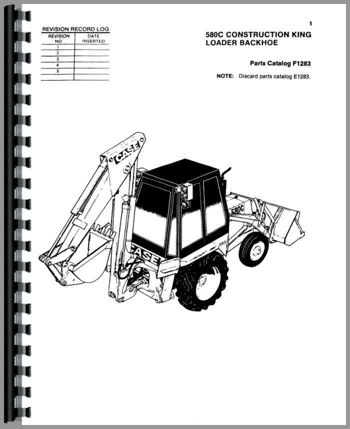 580k Backhoe Wiring Diagram Case 580 Parts Diagram Wiring