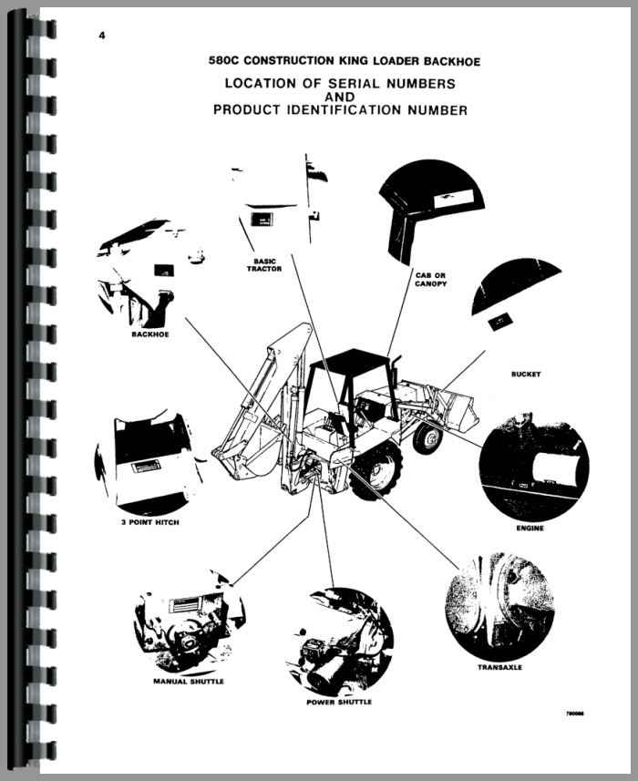 Wiring Diagram For A Case 580ck Backhoe Case 580K Wiring