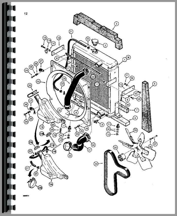 Case 580E Tractor Loader Backhoe Parts Manual
