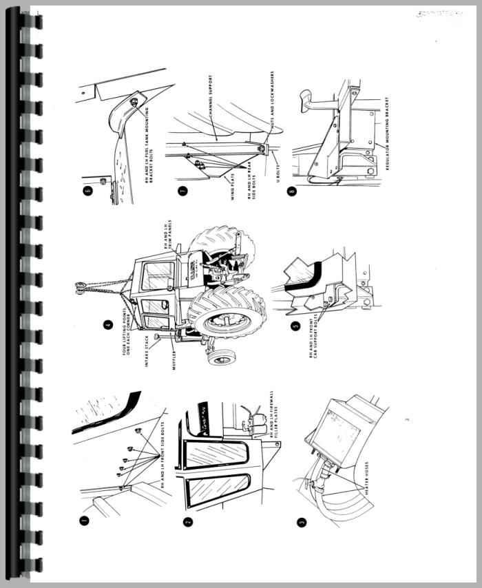 Case 741 Tractor Service Manual