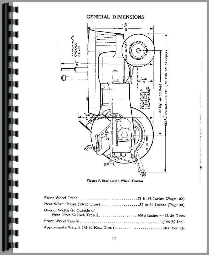 Case 800 Tractor Operators Manual