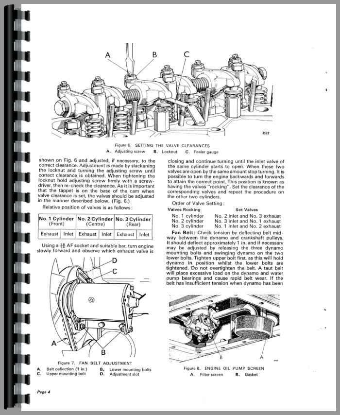 Case 990 Tractor Service Manual