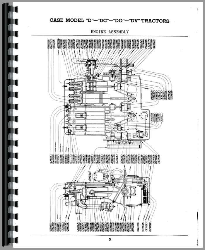 Case DC Tractor Parts Manual