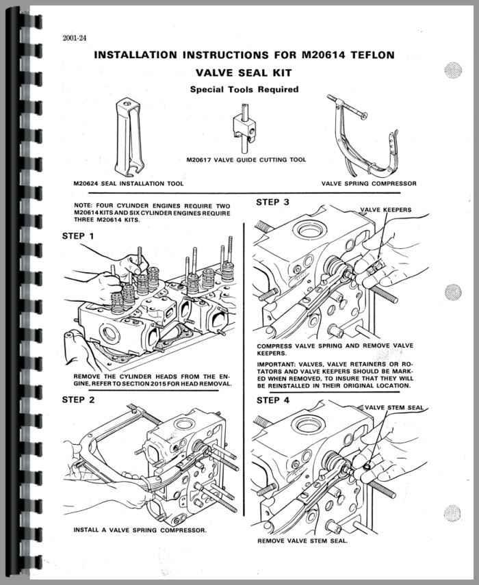 Case 336 Engine Service Manual