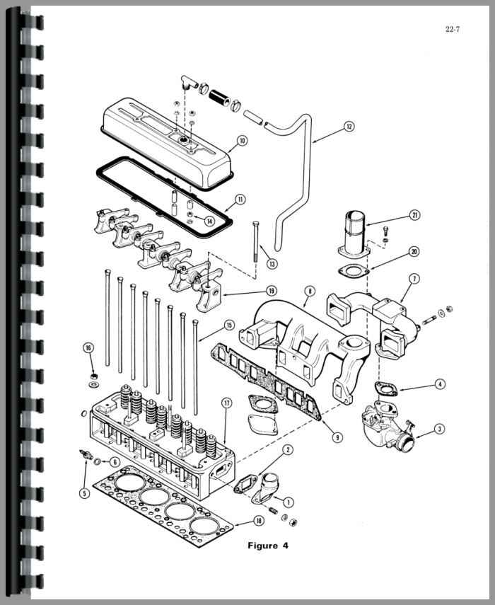 Case G159 Engine Service Manual