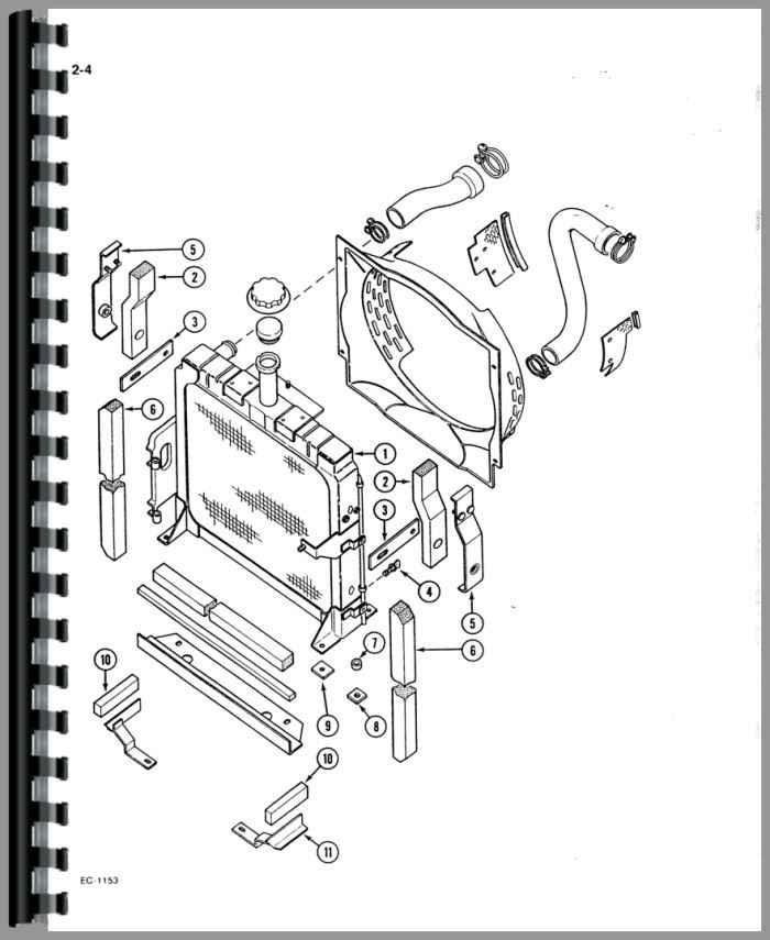 Case-IH 385 Tractor Parts Manual