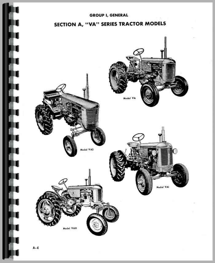 Case VAI Tractor Service Manual