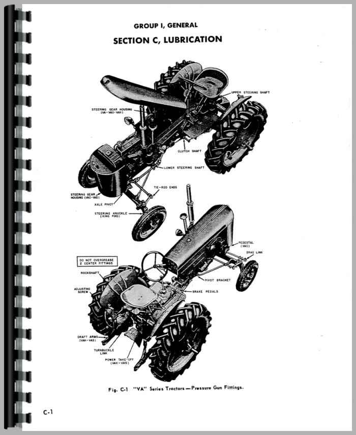 Case VAI Tractor Service Manual